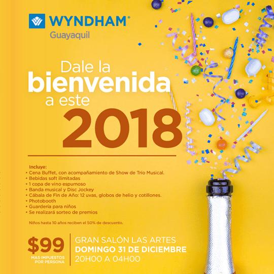 Front-Row-Fiesta-año-nuevo-2018-Wyndham-Guayaquil